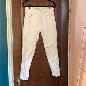 Anthropologie Pilcro White Jeans size 29